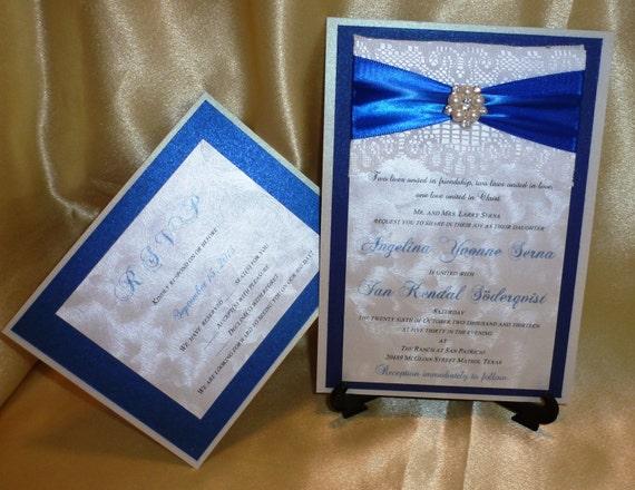 Royal Blue Wedding Invitation Templates Royal Blue Wedding Invitation