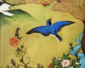 """16x20 Limited Edition, Signed, Matted Print titled, """"Bluebird"""""""