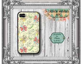 Floral Petals iPhone Case, Spring iPhone Case, Gift for Her Phone Case,  iPhone 7, 7 Plus, IPhone 6, 6s, 6 Plus, SE, iPhone 5, 5s, 5c, 4, 4s