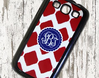Monogrammed Samsung Phone Case - S3 - Personalized Phone Cases