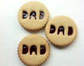 Bee's Bakery - 10 Fathers Day Jammie biscuits