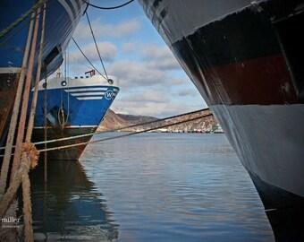 Fine Art Photograph - Ocean Photography - Oceanscape - wall art - Art Print - home decor - atlantic canada - nfld - harbour photograph