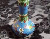 Miniature Oriental Cloisonne Vase