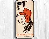 Catcher in the rye Iphone Case, salinger iphone case, book Iphone case, book cover cases,  Fits iPhone 5, iPhone 4s & iPhone 4