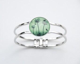 Bracelets green dandelion