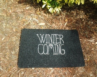 Winter is Coming Welcome Mat