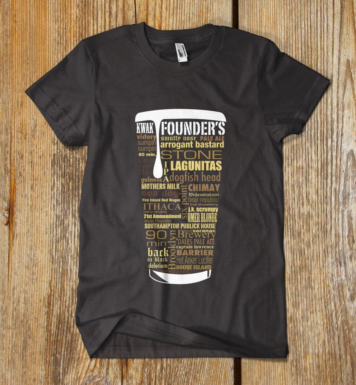 Amazon.com: Bucket List-Beer & Ice T-Shirt-Funny drinking shirt-XL ...