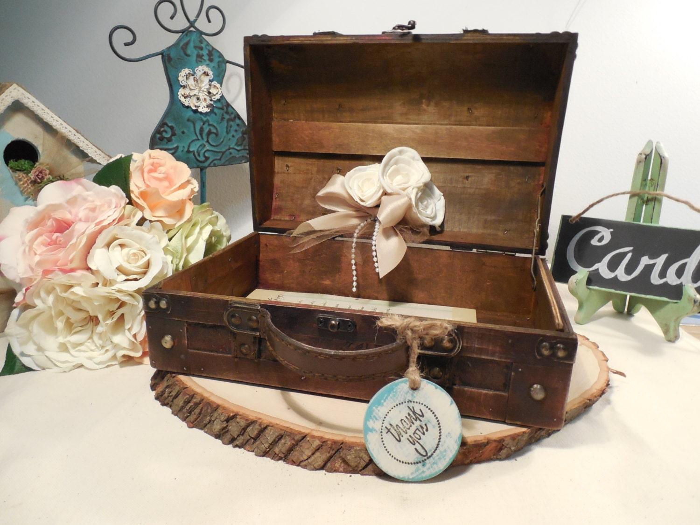 Card Gift Box Wedding: Weddings Card Box Wedding Card Box Rustic Wedding Card