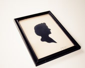 Vintage silhouette cameo