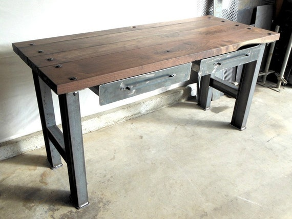 Vintage / Modern Industrial Desk