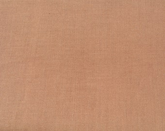 Caramel Cotton Fabric - 1/2  yard