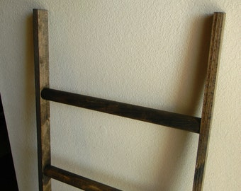 Large walnut ladder