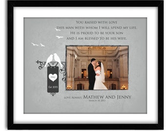 Wedding Gifts for Mother In Law Father in Law Parents Thank