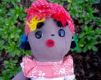 Adorable Vintage Ethnic Cloth Doll