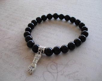 Azabache (figa hand) bracelet