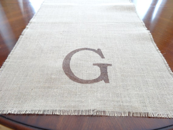 table runner by length onthetabledesigns  table runner monogrammed Custom Length custom