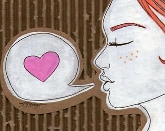 Love, Ginger   Pack of 10 postcards