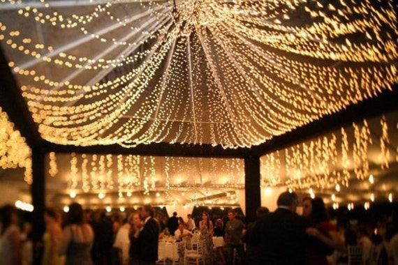 String Lights Wedding Reception : Unavailable Listing on Etsy