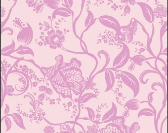 Dreaming in French Coquette in Pink by Pat Bravo for Art Gallery Fabrics