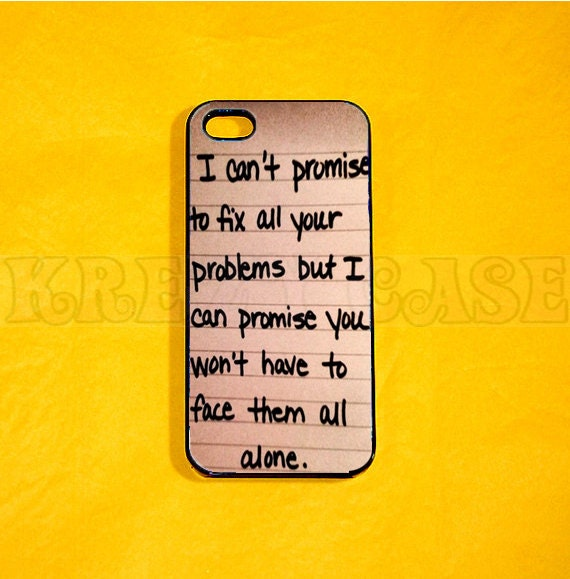 Items similar to iphone 4 Case, Love Quote iPhone 4 case