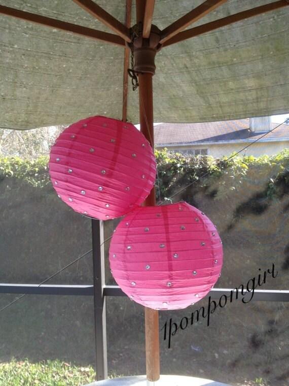 2 PAPER LANTERNS // wedding decorations / bridal shower / baby shower / birthday decorations / wedding lanterns