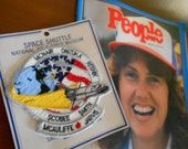 Historical People Magazine Space Shuttle Mission Christa McAuliffe Vintage Issue Free Shipping