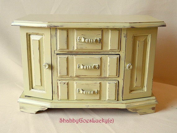 Shabby Chic Vintage Dresser Sideboard Chest Of Drawers