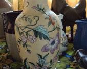 SALE Beautiful VASE Porcelain Floral China Vintage