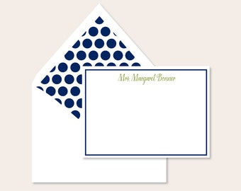 Personalized Stationery - Classic Name