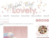INSTANT DOWNLOAD - Premade Blogger Template - Lovely