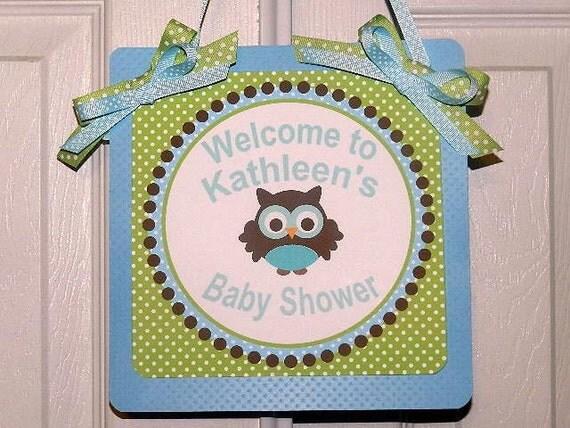 Baby shower door decorations my occasion baby s laundry for Baby shower door decoration