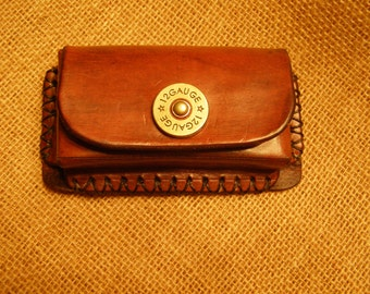 Leather Bullet Case