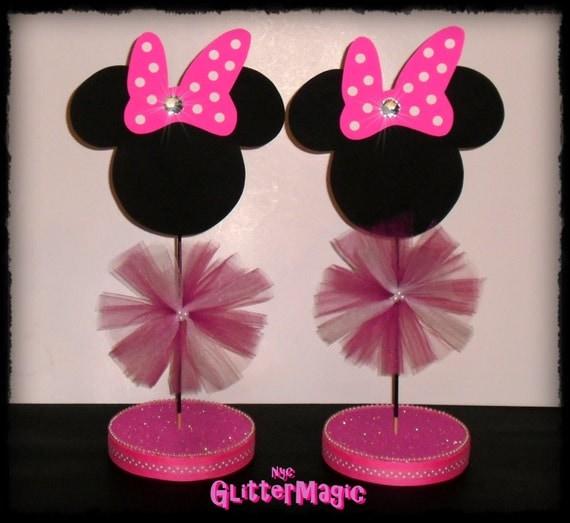 Centros de mesas de Minnie Mouse bebé - Imagui