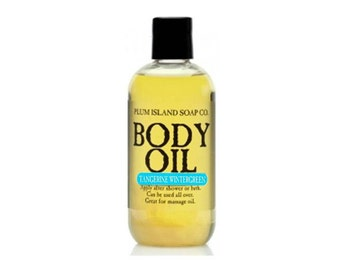 Body Oil: Tangerine Wintergreen