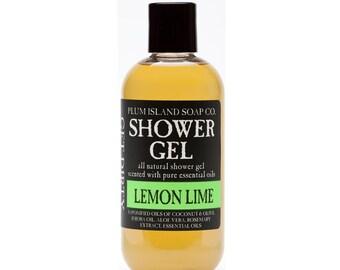 Shower Gel: Lemon Lime