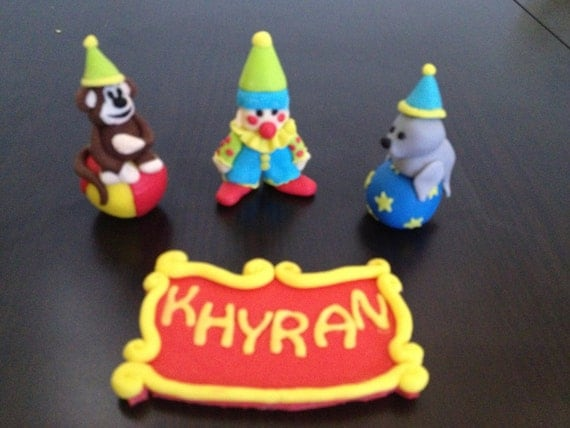 Clown Cake Toppers Australia