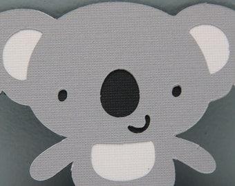 Cricut Diecut-Set of 8 Koala Bears
