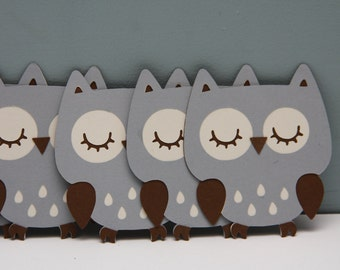 Cricut Owl-Set of 8
