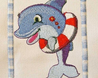 Iron-On Patch - DOLPHIN