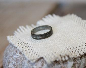 """Antique ring... 1/2 """""""