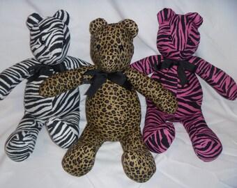 Animal Print Bear