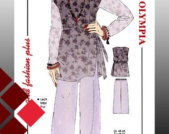 Patterns, 0907, tunic and trousers (1120)