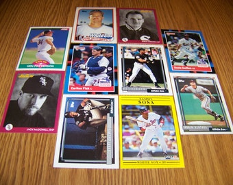 50 Chicago White Sox Baseball Cards