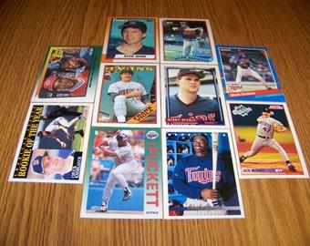 50 Minnesota Twins Baseball Cards