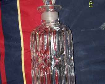 Waterford Crystal Decanter - Retired Pattern, 1940s to 1950s