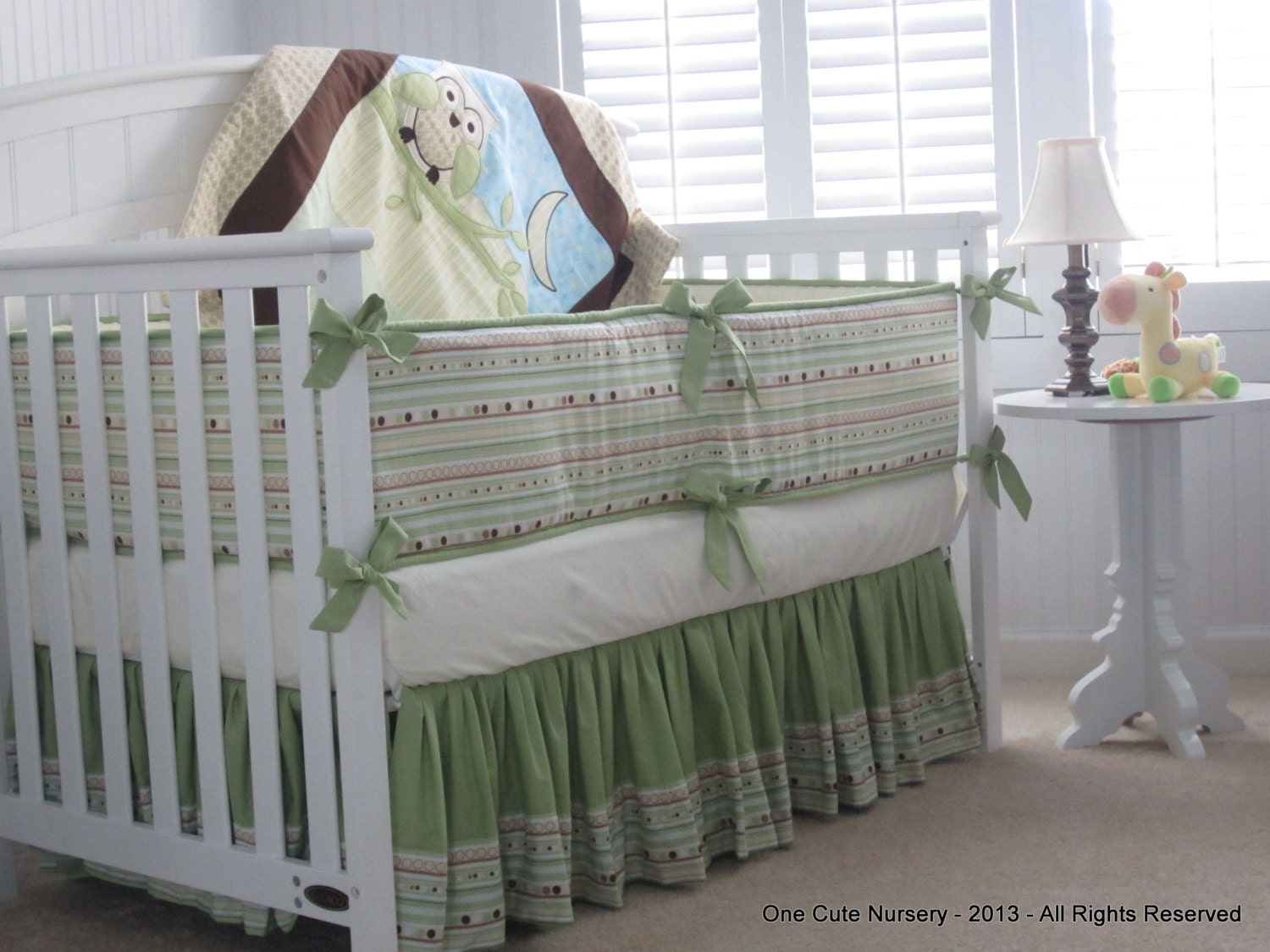 Ideal Owl Themed Crib Bedding Set