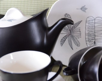 Sir Terence Conran 1950's Vintage Tea Set