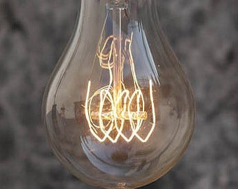 Large Filament Light Bulb: 2016 NEW vintage Large Edison A70 Goldline light bulb 60w 220v Carbon  Filament Glass Lamp special rare goble,Lighting
