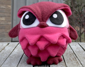 Valentine Owl Plush - Made-to-Order