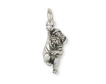 Pug Dog Charm Jewelry  PG28-C